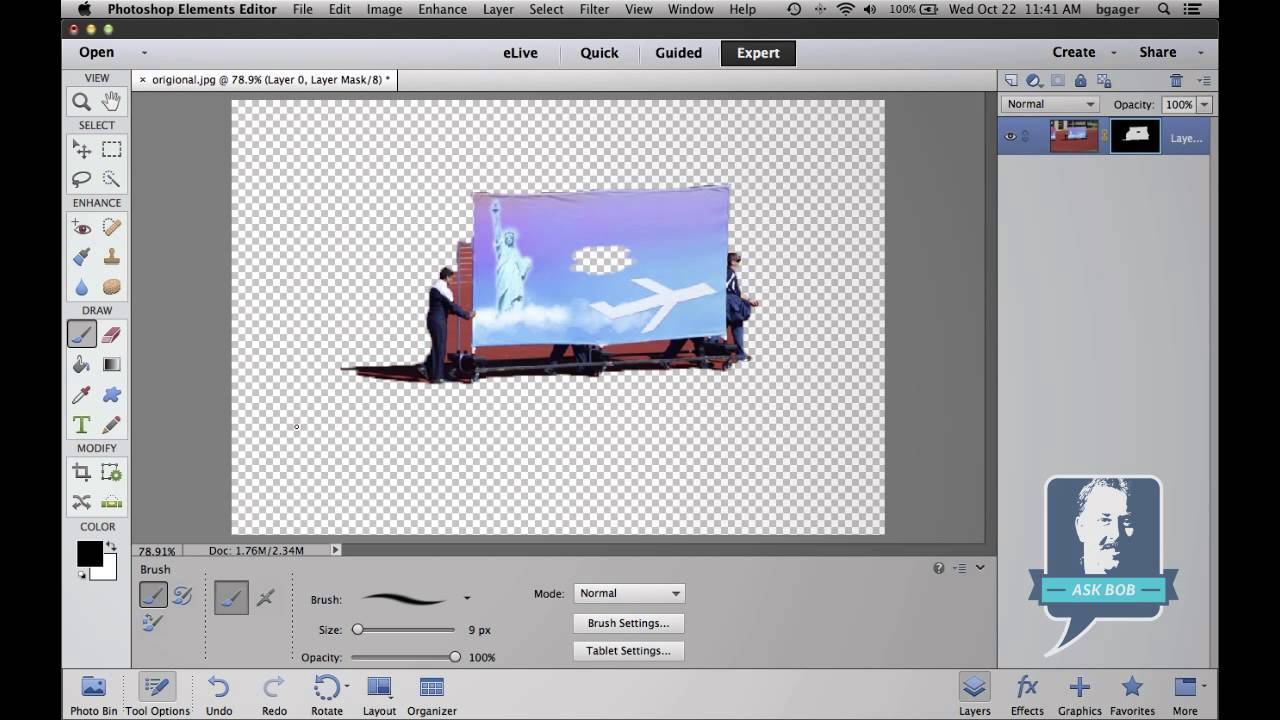 How to fix color cast in photoshop elements - How To Remove Backgrounds In Photoshop Elements Lensvid Comlensvid Com