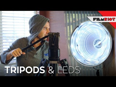 Creating Simple DIY Lights And A Look At Tripods For Video    LensVid.comLensVid.com