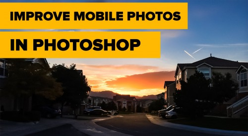 Improve your iPhone images using Photoshop