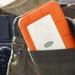 LaCie Rugged RAID: 2 Drives in one Small Rugged Unit