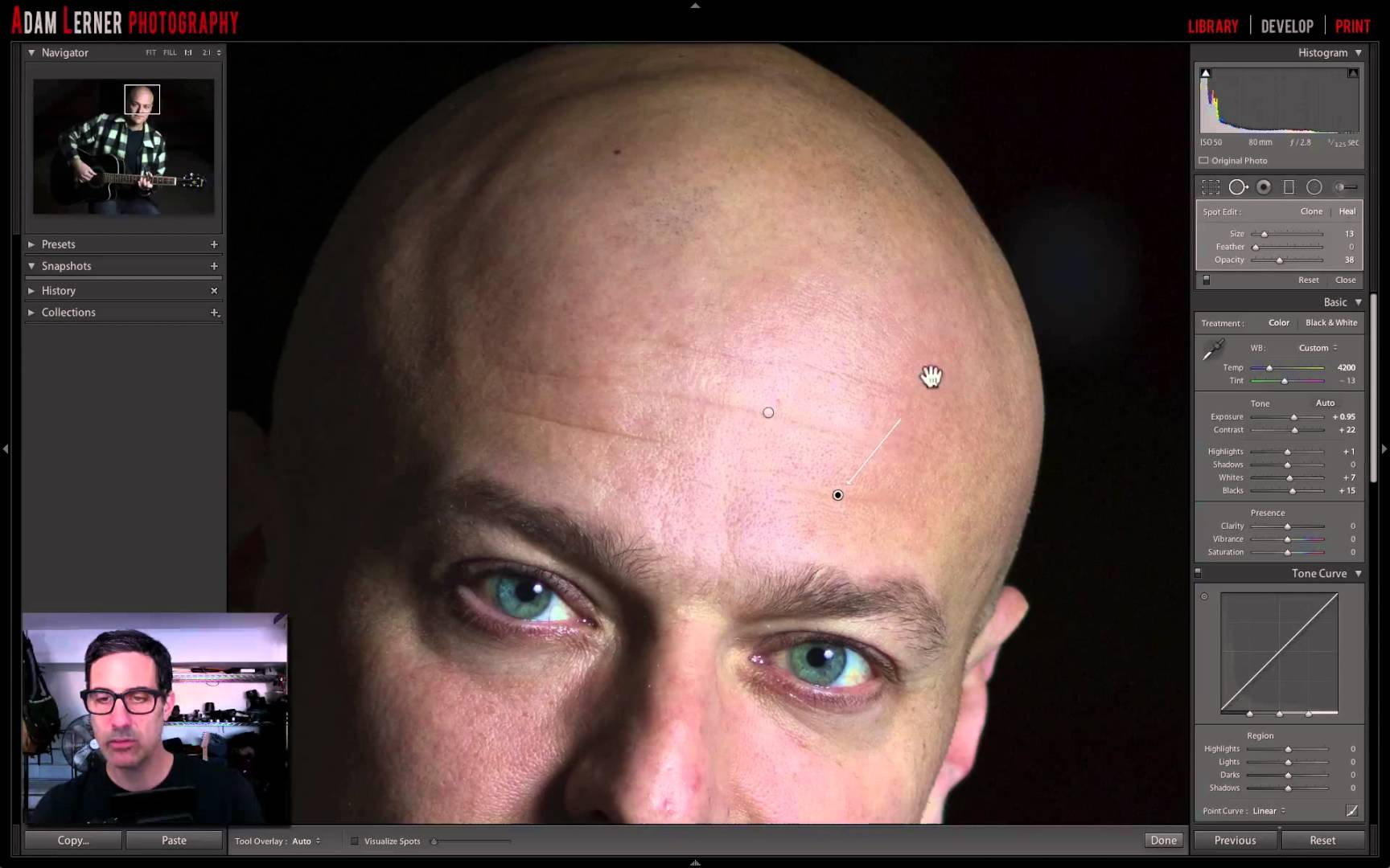 How To Do Spot Removal In Light Room