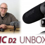 Aputure V-Mic D2 Shotgun Microphone Hands On