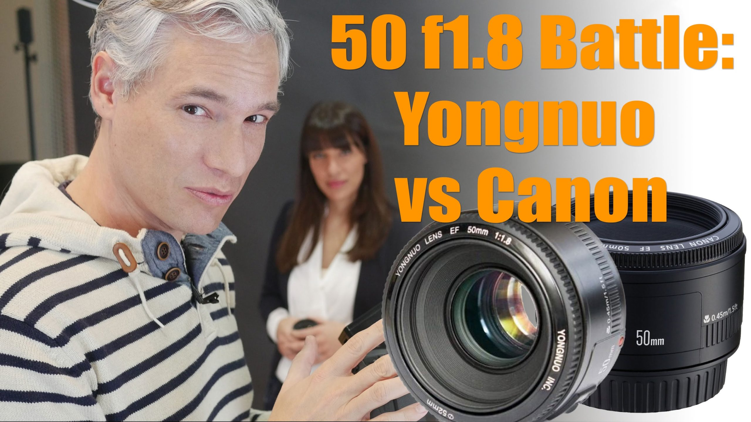 Canon vs. Yongnuo: 50mm f/1.8 - Which is The Better Lens?