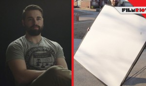 DIY Bounce Board & Interview Lighting!