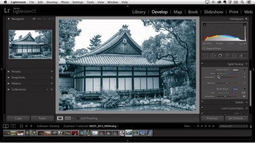 Adding Cross Process Effects in Lightroom
