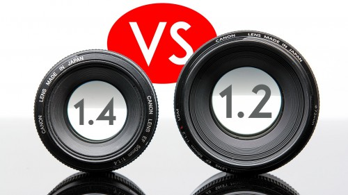 Lens Comparison: Canon 50mm f/1.2L vs Canon 50mm 1.4