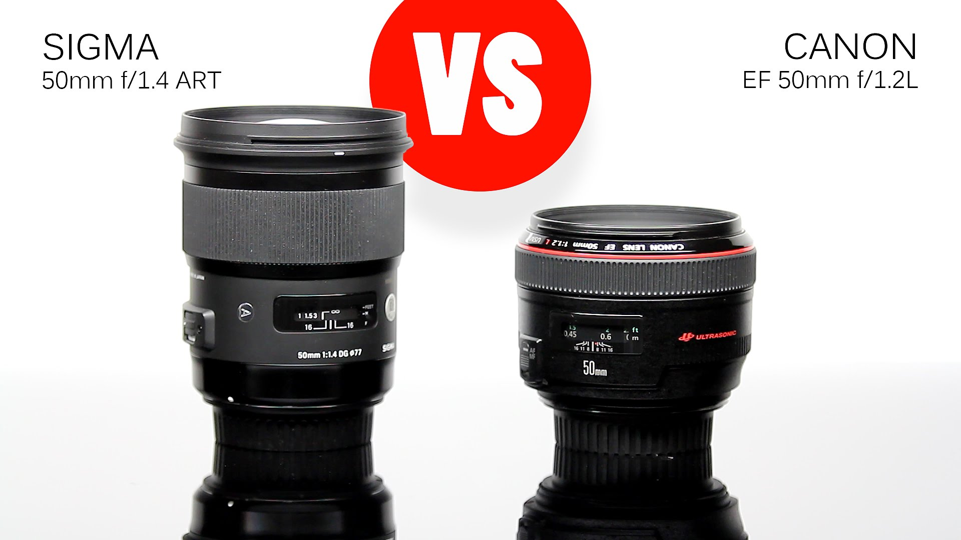 canon 50mm f 1 2l vs the sigma 50mm f 1 4 art lensvid. Black Bedroom Furniture Sets. Home Design Ideas