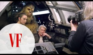 "Watch the ""Star Wars"" Cast on Set for ""Vanity Fair's"" Cover Shoot"