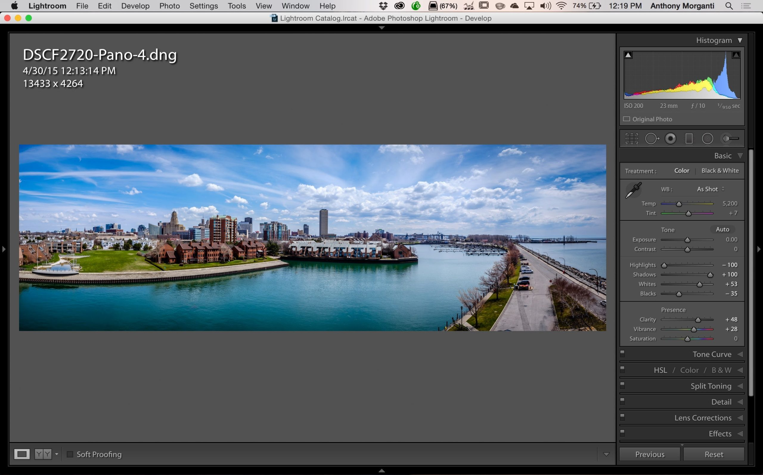 How to Create a Panorama in Lightroom 6 / CC - LensVid