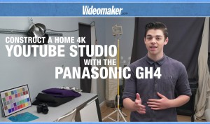 How to Construct a Home 4K YouTube Studio w/ a Panasonic GH4 - Sponsored Video