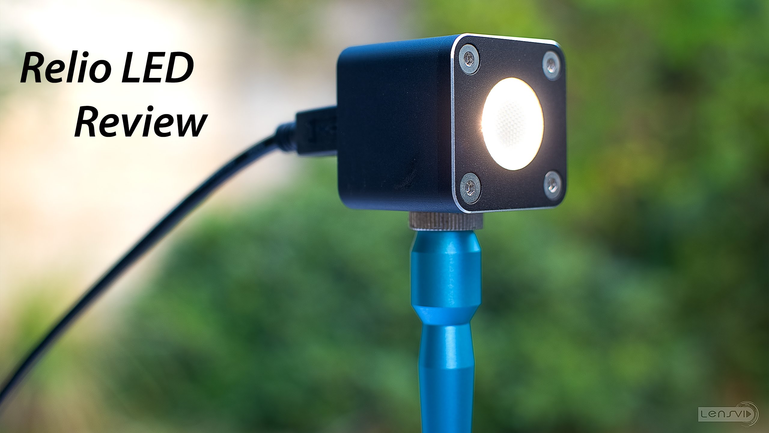 LensVid Exclusive: Relio LED Light Review