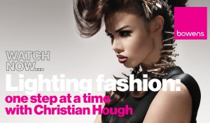 Photography Lighting Techniques - Photographing Fashion one light at a time with Christian Hough