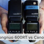 Speedlight Comparison: Yongnuo 600RT vs. Canon 600RT vs. a LED Light