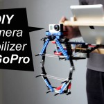 How to Build a DIY GoPro Camera Stabilizer from… Lego