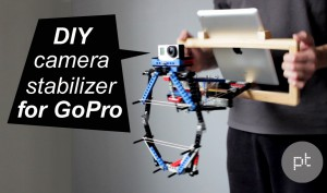 how to make your own camera gimbal