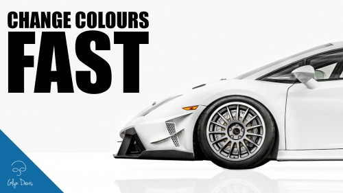 How to Change Colours FAST: Photoshop #82