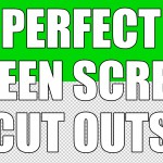 How to Make the Perfect Green Screen Cut Out in Photoshop
