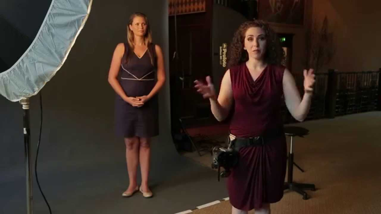 How To Pose Full Figure Women with a One Light Setup ...