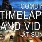 Combining Time Lapse and Video at Sunset
