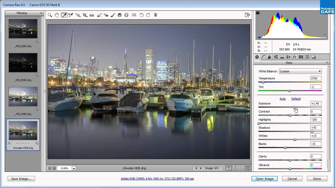 How to Create an HDR in Adobe Camera Raw - LensVid.comLensVid.com