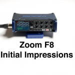 Zoom F8 Field Recorder Hands on Review