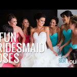 Eight Cool Bridesmaid Poses