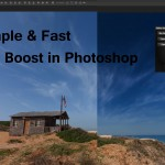 LensVid Editing Tip: Simple & Fast Sky Boost in Photoshop