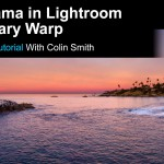 Make a Panorama in Lightroom Using Boundary Warp