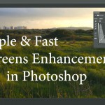 LensVid Editing Tip: Simple & Fast Greens Enhancements in Photoshop