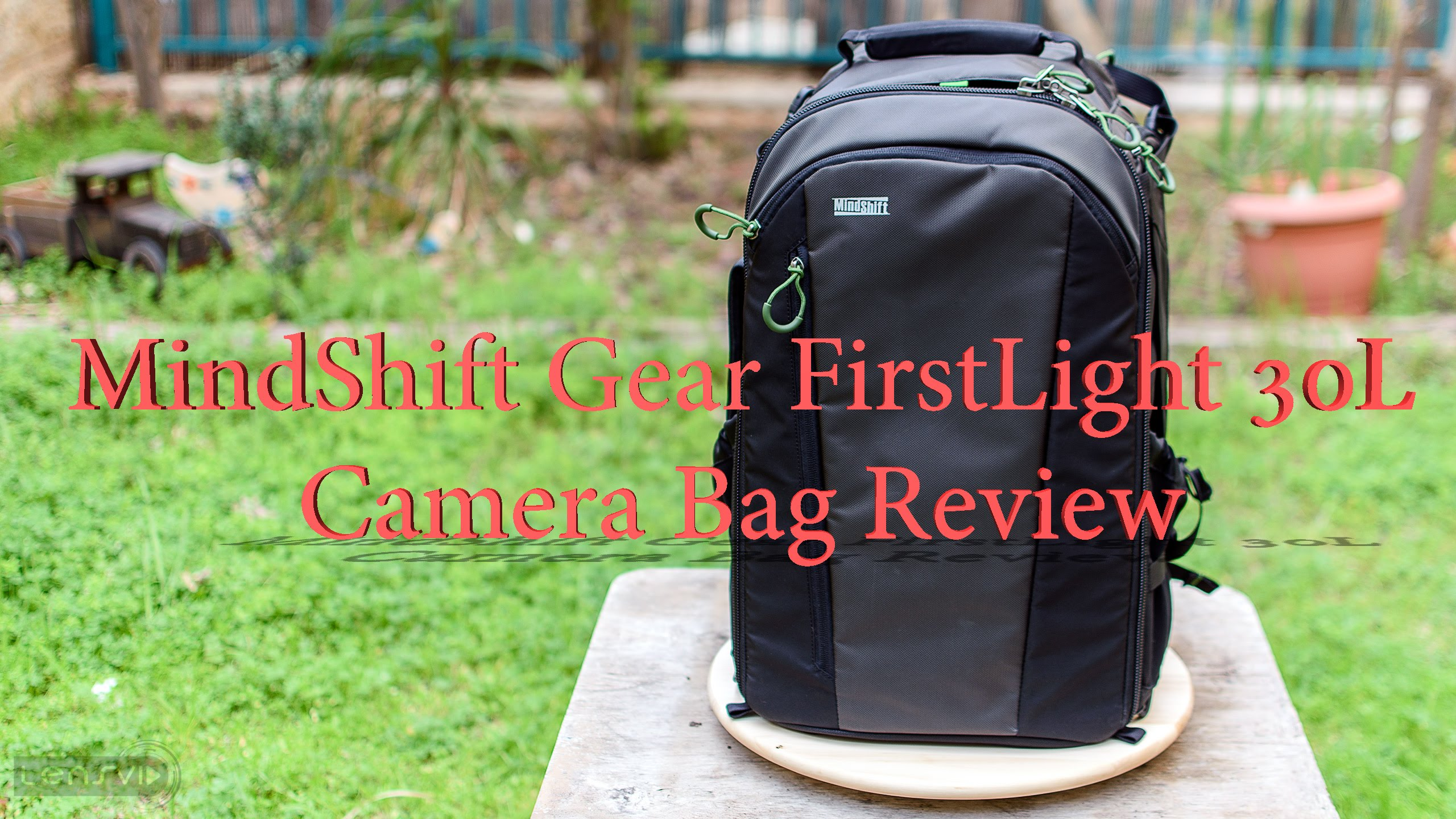 Lovely LensVid Exclusive: MindShift FirstLight 30L Camera Bag Review    LensVid.comLensVid.com Photo