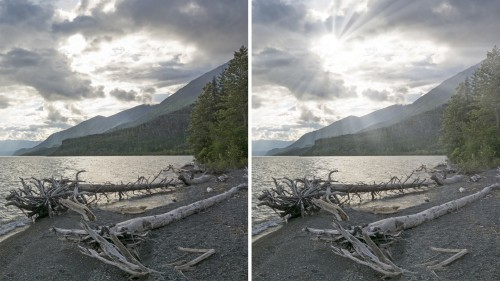 How-To-Make-Light-Rays-Through-Clouds-In-Photoshop