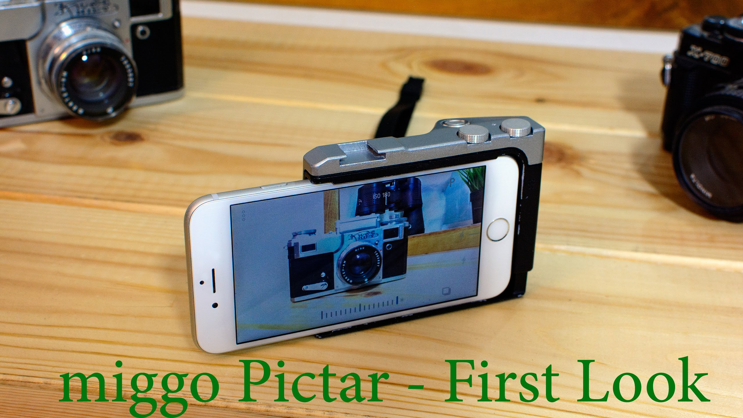 LensVid Exclusive: miggo Pictar - iPhone Camera Grip First ...