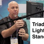 A Look at the Triad Orbit Light and Microphone Stand System