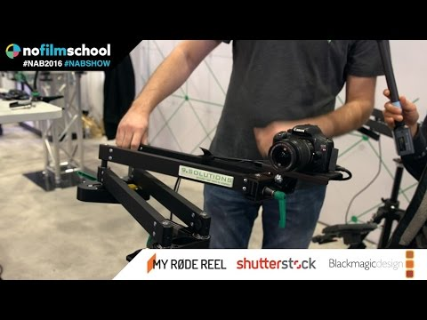 9.Solutions C-Pan Arm is Part Slider and Part Jib