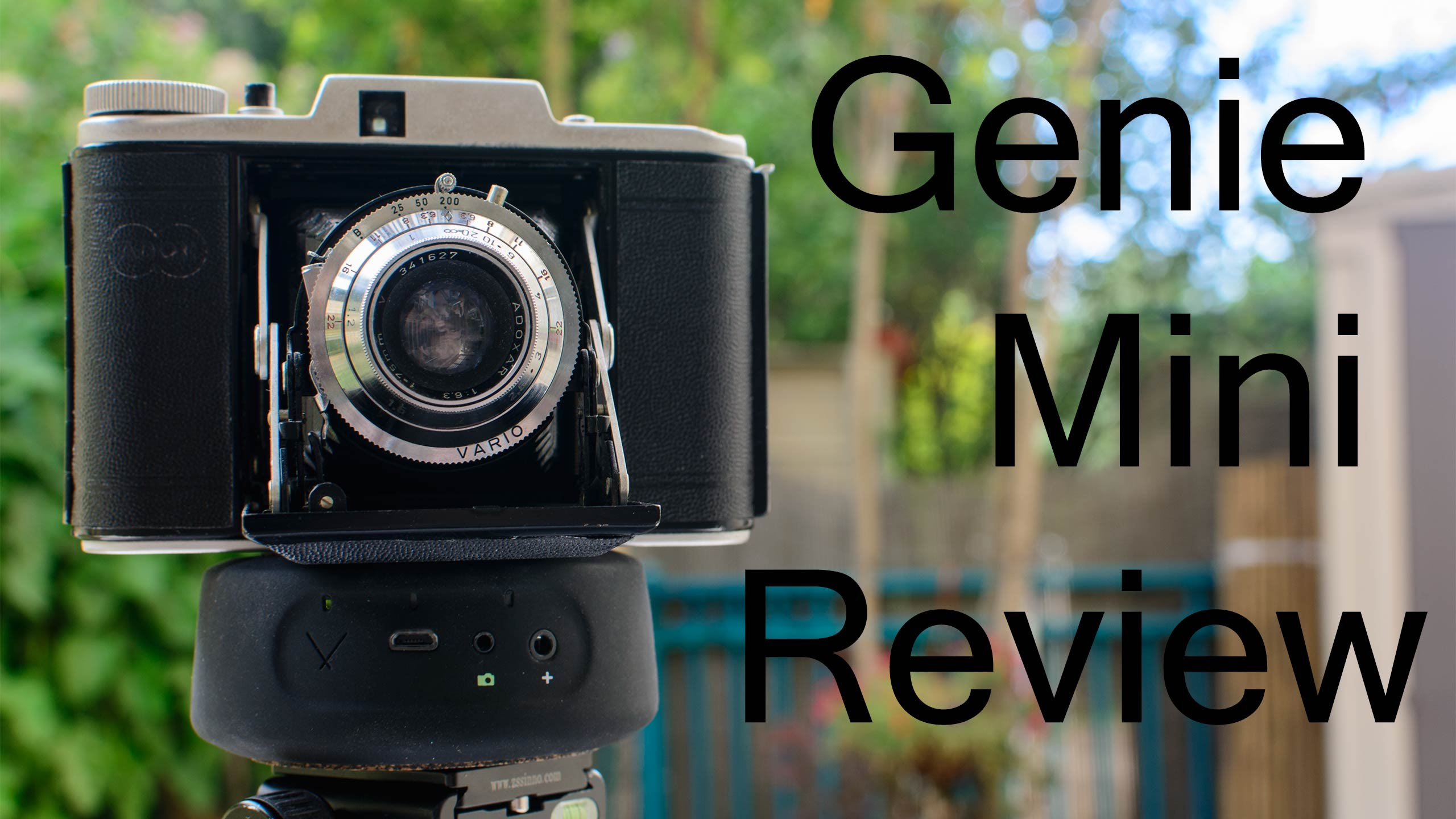 LensVid Exclusive: Syrp Genie Mini Review