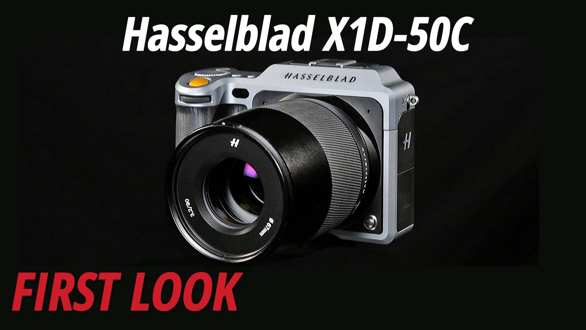 First Look at the Hasselblad X1D-50c Mirrorless Medium Format Camera