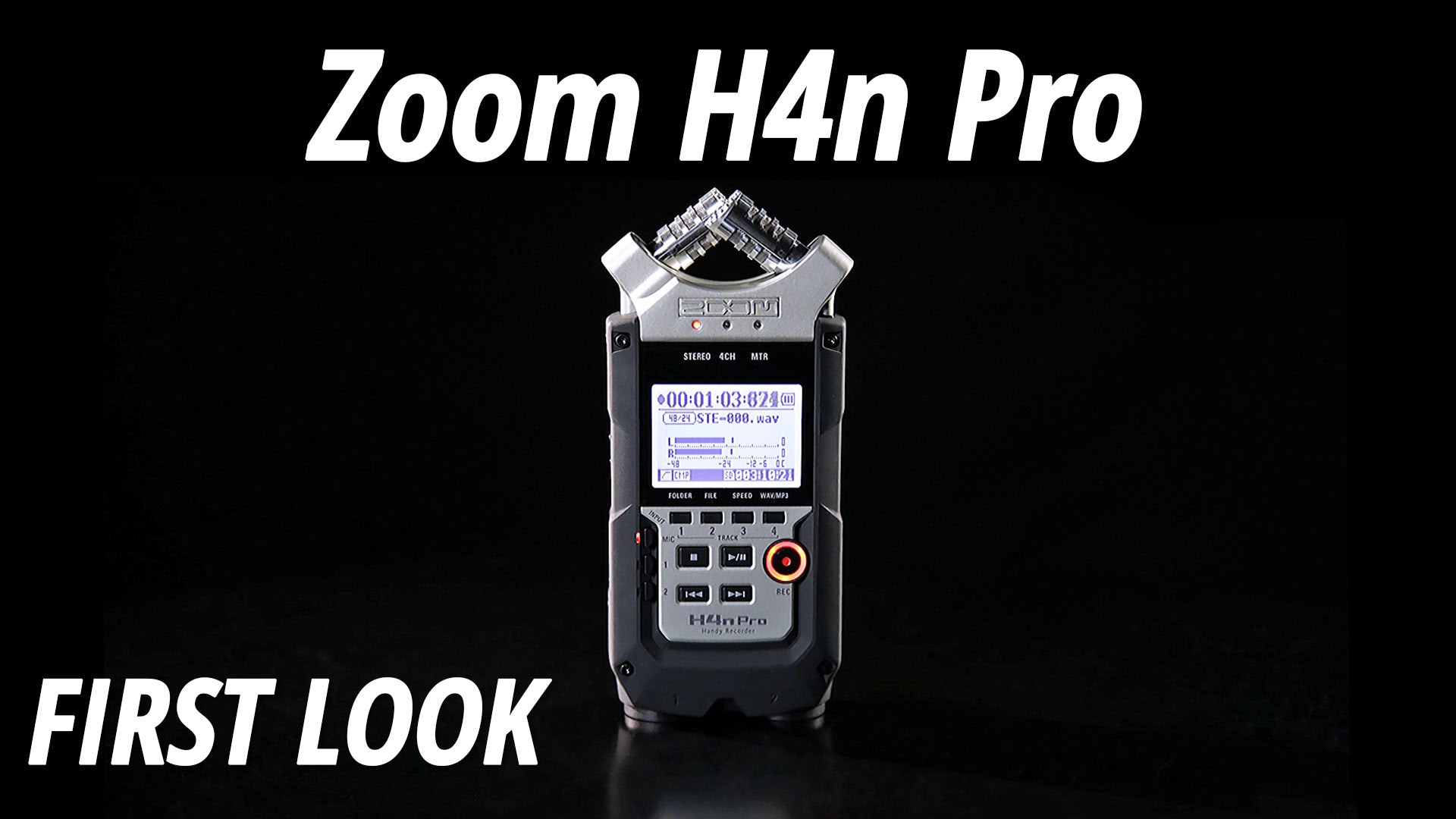 first look at the zoom h4n pro recorder. Black Bedroom Furniture Sets. Home Design Ideas