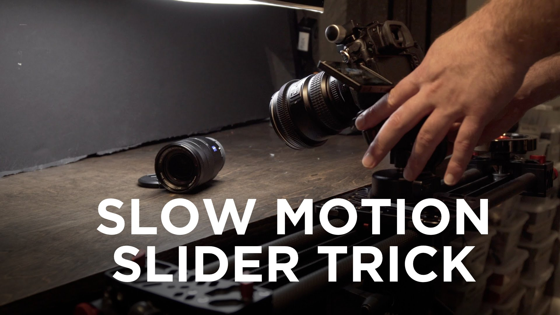 How to Create Slow/Fast Motion Camera Movement Shots