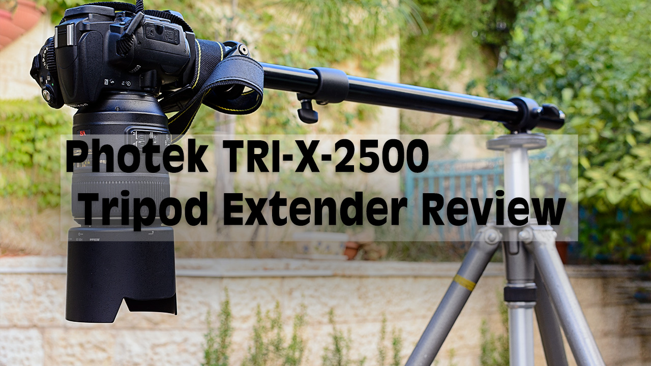 LensVid Exclusive: Photek TRI-X-2500 Tripod Extender Review