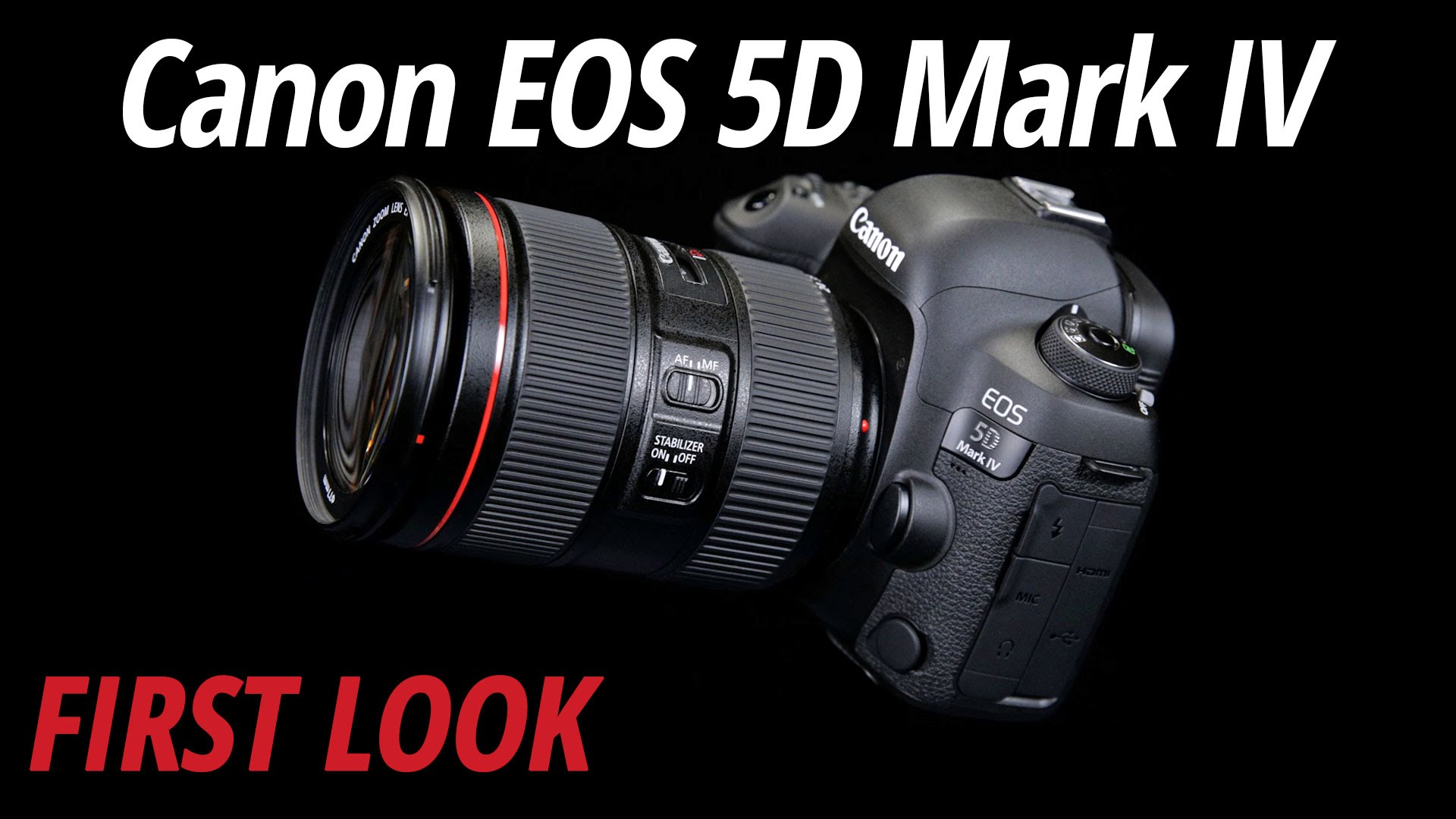 First Look at the Canon EOS 5D Mark IV and Two L Series Lenses