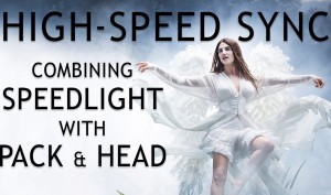 High-Speed-Sync-Combining-Speedlight-with-Pack-Head