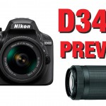 Nikon Announces the D3400 and Two 70-300mm Lenses