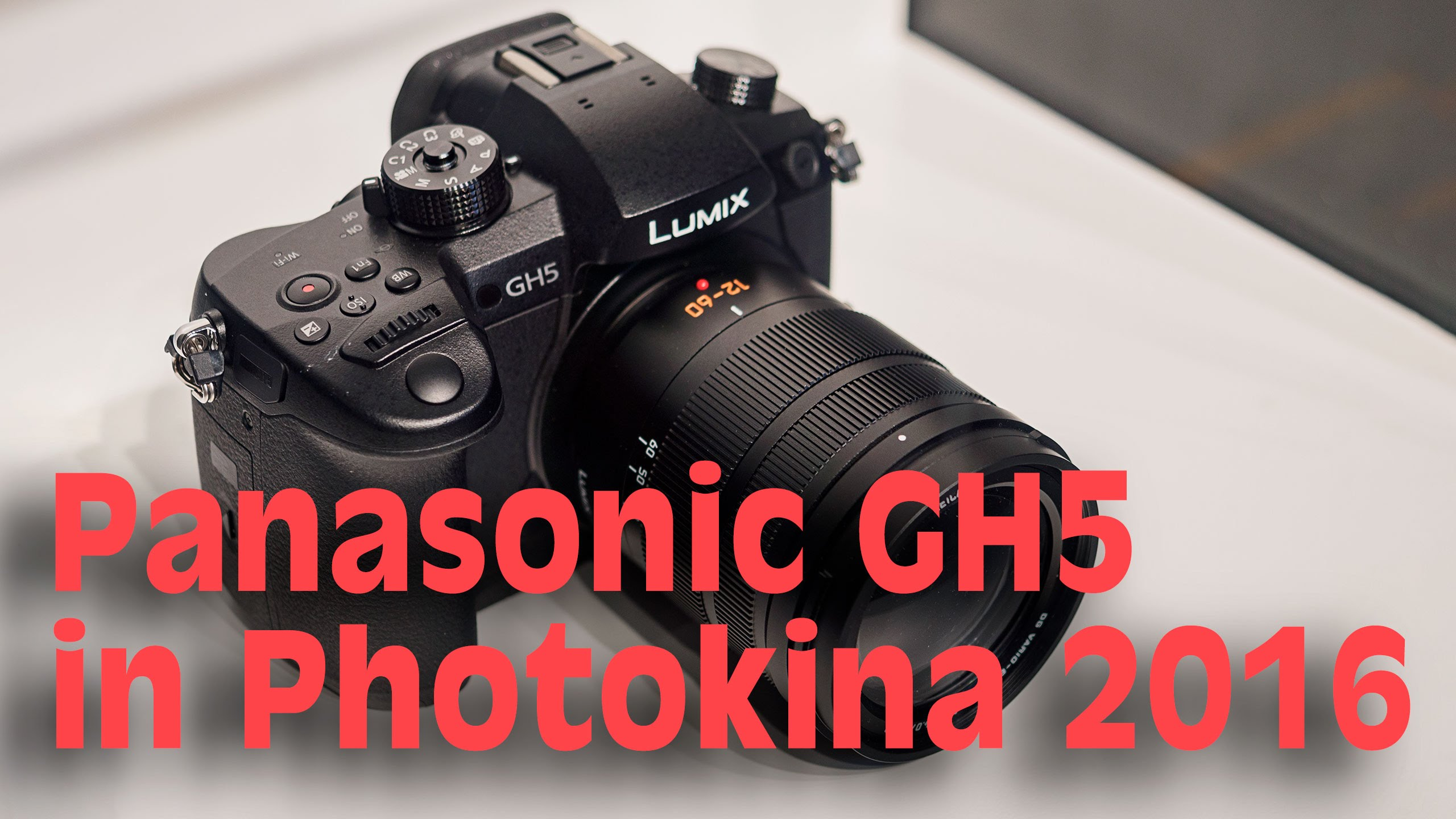 Photokina 2016 – Panasonic Booth – a Look at the GH5, G80, FZ2000 and LX15