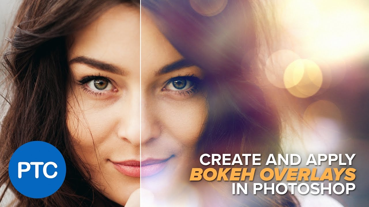 Advance hair selection tutorial masking hair in photoshop how to use bokeh overlays in photoshop baditri Image collections
