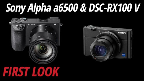 First-Look-Sony-Alpha-a6500-DSC-RX100-V