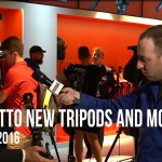 LensVid Exclusive: Manfrotto New Tripods and Monopods – Photokina 2016