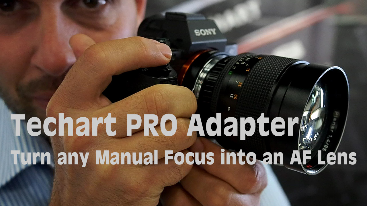 LensVid Exclusive: Techart PRO Adaptor Demo – Turn any MF Lens into an AF Lens