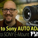 Fotodiox FUSION Nikon to Sony E-mount  AF Adapter