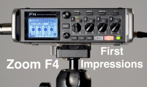 Zoom-F4-Audio-Recorder-First-Impressions