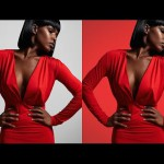 How to Add a Colored Background to a Portrait in Photoshop